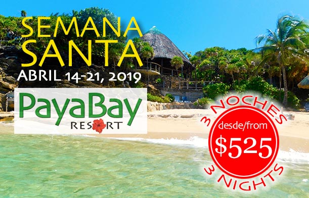 Semana Santa - 4 Nights from $699